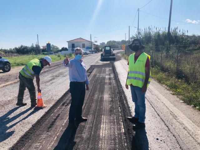 ΤΟ έργο βελτίωσης στην εθνική οδό Μεσσήνη – Πύλος
